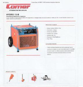 Centralina Idraulica Comer mod. Hydro 13-B-page-001