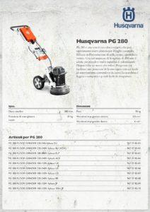 Molatrice per pavimenti Husqvarna mod. PG280 Monofase-page-001