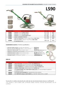 Scheda tecnica lisciatrice per pavimenti in calcestruzzo Maker LS 90-page-001