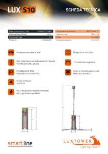 Torre faro LuxTower mod. S10 Compatto alimentazione 230V - 16A-page-002