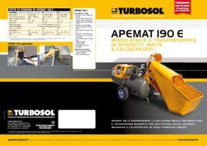 Trasportatrici e mescolatrici di massetti Turbosol mod. Apemat 190 E-page-001