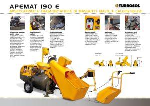 Trasportatrici e mescolatrici di massetti Turbosol mod. Apemat 190 E-page-002