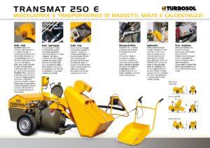 Trasportatrici e mescolatrici di massetti Turbosol mod. Trasmat 250 E-page-002