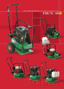 Maker Piastra vibrante PML-80-1