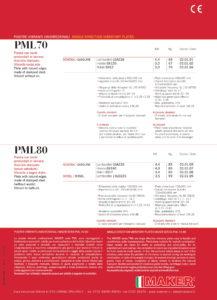 Maker Piastra vibrante PML-80-2